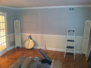 paint living room'